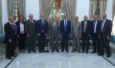 الرئيس عون أكد على ضرورة المحافظة على المصالحة في الجبل