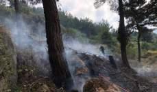 إخماد حريق أخشاب في جعيتا وحريقي أعشاب يابسة وأشجار في غبالة وإهدن