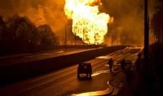 مقتل أكثر من 100 شخص بحريق نشب في ناقلة نفط شرق باكستان