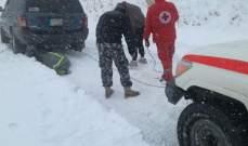 النشرة: الصليب الأحمر لشبعا نقل عددا من المرضى لمستشفى مرجيعون بسبب البرد