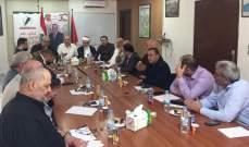 لقاء الأحزاب الوطنية: الحكومة يجب أن تجتمع ونطالب بإحالة حادثة قبرشمون للمجلس العدلي