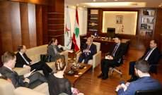 المشرفيّة عرض ملفات الوزارة مع وفد نرويجي ودانماركي وعقد سلسلة لقاءات
