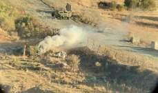 النشرة: دورية إسرائيلية ألقت قنبلتين دخانيتين بمحاذاة السياج الحدودي ولا أضرار