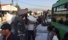 النشرة: بدء تجمع النازحين في باحة المصنع تمهيدا للعودة الطوعية