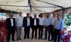 كريدي نوه بدور الجيش في تعزيز الوحدة الوطنية وصيانة أمن وحدود لبنان