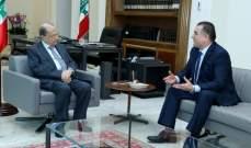 الرئيس عون اطّلع من السفير محمد حسن على الأوضاع السياسية في الجزائر