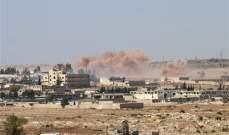 التلفزيون السوري: عدوان  اسرائيلي على تل الحارة بريف درعا اقتصر على الماديات