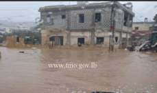 التحكم المروري: قطع الطريق بين رميش ودبل محلة الكورة بسبب تجمع للمياه
