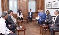 الأسد لوفد برلماني تونسي: الوعي الشعبي لحقيقة الاستهداف الخارجي لدولنا العربية أصبح كبيراً