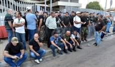 نقل احد العسكريين المتقاعدين الى المستشفى نتيجة عارض صحي