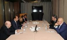حسام زكي التقى هندي وجبور موفدين من جعجع