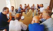 وفد تقني من وزارة الزراعة تفقد المناطق المحروقة في عكار