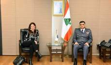 اللواء عثمان التقى سفيرة النرويج وعرض معها الاوضاع العامة