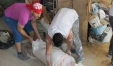 شبيبة كاريتاس لبنان تؤهل منازل محتاجين في صيدا