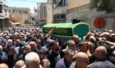 تشييع السيد محمد علي فضل الله إلى مثواه الأخير في بنت جبيل واستمرار تقبل التعازي