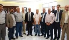 وزير الزراعة استقبل وفداً من مزارعي القمح في البقاع وعكار