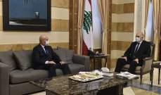 فهمي بحث مع سفيري صربيا والأرجنتين للعلاقات بين لبنان وكلا البلدين