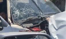 إصابة طفلين في حادث سير في بلدة الخرايب