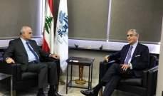 خليل التقى وفدا من البنك الدولي وعرض معه الاصلاحات المطلوبة لمؤتمر سيدر