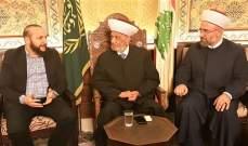 المفتي دريان استقبل سفير الهند في لبنان ورئيس المجلس الإسلامي لولاية سيدني