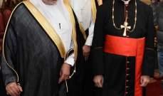 الربيعة زار الراعي: السعودية حريصة دائما على الأمن والإستقرار في العالم العربي