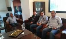 سعد يستقبل المدير الإقليمي الجديد لجهاز أمن الدولة في الجنوب
