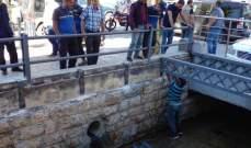 بلدية بعلبك أزالت مخالفة فوق نهر رأس العين