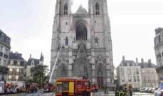 صحيفة فرنسية: متطوع إفريقي من رواندا يعترف بحرق الكاتدرائية عمدا في نانت