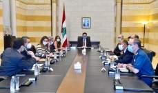 حسن بعد اجتماع لجنة كورونا: للتشدد بالإجراءات الآيلة لمنع انتشار الوباء ووضع غرامات على المخالفين