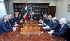 الرئيس عون: حفر أول بئر نفطي سيؤثر ايجابا على الاقتصاد الوطني