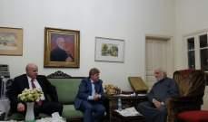 رئيس المجلس الأرثوذكسي زار خضر مهنئا بالوسام الأكبر من الرئيس عون