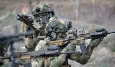 """الدفاع التركية: القضاء على 5 عناصر من """"بي كا كا"""" بعملية عسكرية شمالي سوريا"""