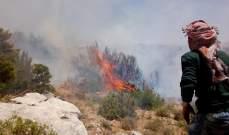 الدفاع المدني أخمد 3 حرائق قضت على أشجار حرجية في الضنية