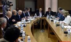 لجنة الاشغال ناقشت مشروع قانون المياه وشكلت لجنة للمتابعة
