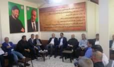 وفد من القاع زار قيادة حركة أمل في الهرمل معزيا بضحايا الطيونة