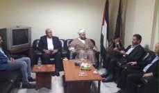 الشيخ جبري دان القرار الاميركي بوضع رمضان شلح على لائحة الارهاب