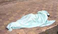 العثور على جثة على طريق عام بعلبك بوداي