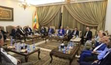كتلة الوفاء للمقاومة كرمت السفير الإيراني لمناسبة انتهاء مهامه في لبنان