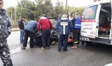 جريح سوري بحادث صدم في بلدة حراجل - كسروان