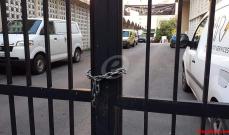 النشرة: محتجون أغلقوا كهرباء صيدا وسنترال اوجيرو في المدينة والجيش أعاد فتح الطرق