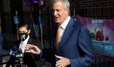 عمدة نيويورك: الحضور في فصول مدارس المدينة سيكون شخصيا في ايلول