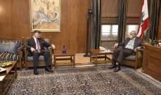 بري عرض مع السفير المصري الأوضاع العامة والعلاقات الثنائية بين البلدين