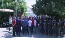 إعتصام لممثلي أصحاب المولدات أمام وزارة الطاقة احتجاجا على التسعيرة التي تصدر عنها