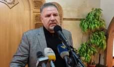 فياض التقى اللقيس: وعدنا بمعالجة ملف النقل البري خلال زيارته الى سوريا غدا