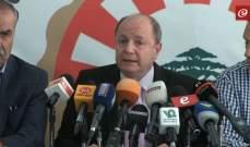 رئيس الاتحاد العمالي العام بشارة الاسمر: 300 حالة صرف تعسفي خلال 3 يام