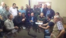 النشرة: بلدية النبي شيت اطلقت حملة تعقيم للمقامات والمساجد