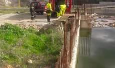 الدفاع المدني: العمل على سحب السيول من داخل مبنى قيد الإنشاء في أميون