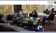 دياب طلب من سفير المانيا مساعدة لبنان لتوفير أسرة عناية فائقة وأجهزة تنفس ومليوني لقاح