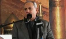 حميد: الأطماع الإسرائيلية في مياه لبنان وأرضه وخيراته لم تتوقف