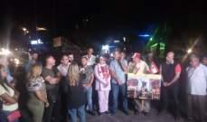 النشرة: تجمع لمحتجين في ساحة إيليا بصيدا رفضا لتردي الأوضاع المعيشية